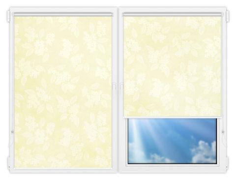 Рулонные шторы Мини - Бетти-201 на пластиковые окна