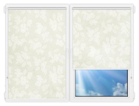 Рулонные шторы Мини - Бетти-701 на пластиковые окна