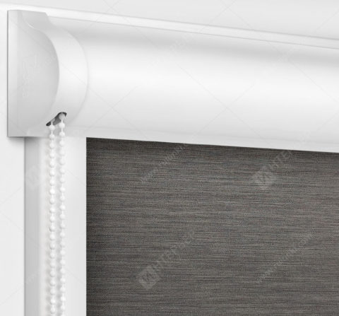Рулонные кассетные шторы УНИ - Лусто серый