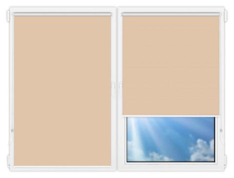 Рулонные шторы Мини - Мюнхен-блэкаут-59 на пластиковые окна