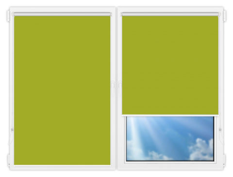 Рулонные шторы Мини - Мюнхен-блэкаут-67 на пластиковые окна