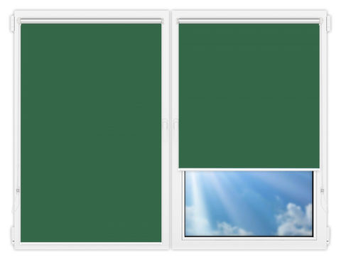 Рулонные шторы Мини - Мюнхен-блэкаут-68 на пластиковые окна