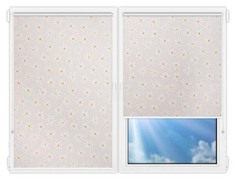 Рулонные шторы Мини - Орегон-1 на пластиковые окна
