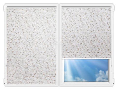 Рулонные шторы Мини - Плато-винтер на пластиковые окна