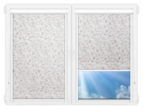 Рулонные кассетные шторы УНИ - Плато-винтер