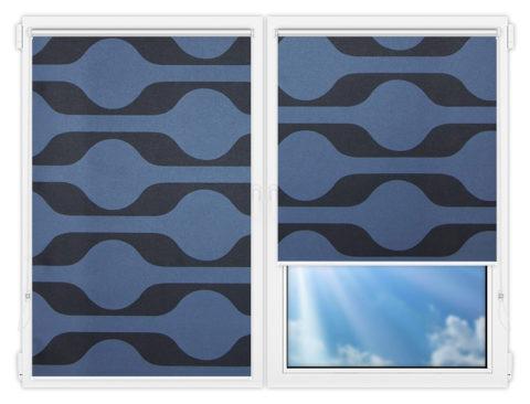 Рулонные шторы Мини - Вискан-581 на пластиковые окна