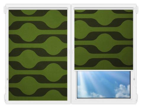 Рулонные шторы Мини - Вискан-601 на пластиковые окна