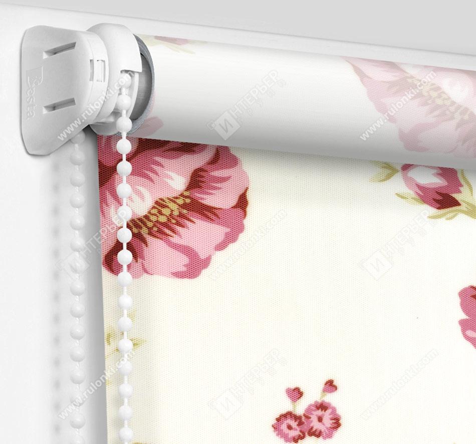 Рулонные шторы Мини - Болгарская роза розовый