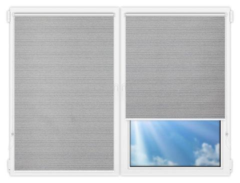 Рулонные шторы Мини - Маракеш-грей на пластиковые окна