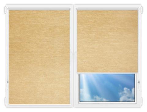 Рулонные шторы Мини - Шикатан-4 на пластиковые окна