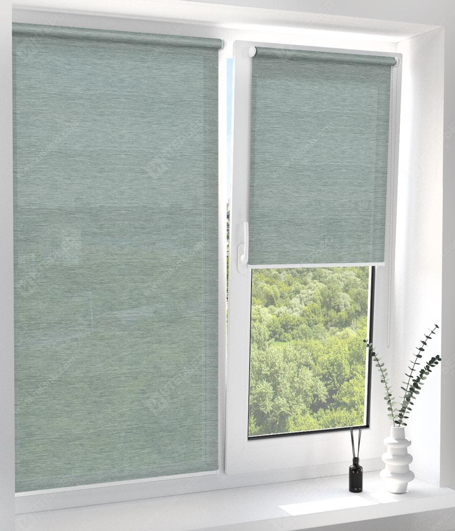 Рулонные шторы Мини - Ямайка зеленый