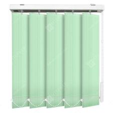 Вертикальные тканевые жалюзи Лайн светло-зеленый