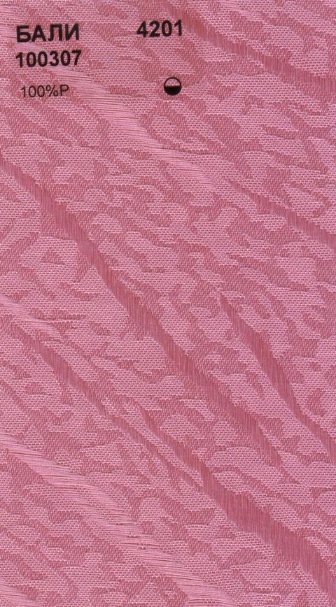 Вертикальные тканевые жалюзи Бали малина
