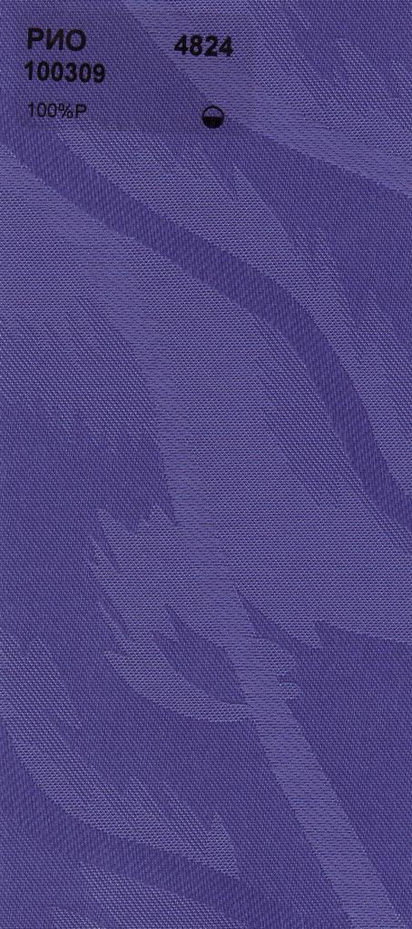 Вертикальные тканевые жалюзи Рио фиолетовый