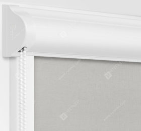 Рулонные кассетные шторы УНИ - Карина серый